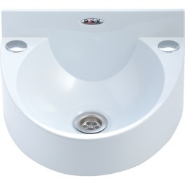 Mechline WS1-WHITE Wash Station with No Taps
