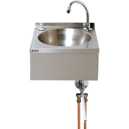 --- MECHLINE WS2-KVS --- Knee Operated Wash Station with Manual Mixer