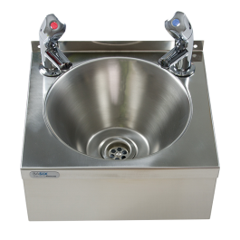--- MECHLINE WS2-TX-BD --- Hand Wash Station with AquaTechnix Dome Taps
