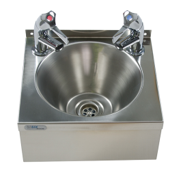 --- MECHLINE WS2-TX-BL --- Hand Wash Station with AquaTechnix Lever Taps