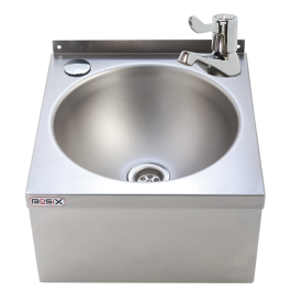 --- MECHLINE WS3-ML --- Hand Wash Station with 3-inch Lever Tap and Manual Mixer