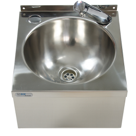 --- MECHLINE WS3-T2 --- Hand Wash Station with Delabie Temposoft 2 Tap with Manual Mixer