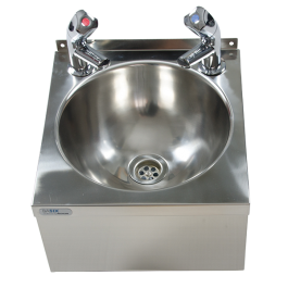 --- MECHLINE WS3-TX-BD --- Hand Wash Station with AquaTechnix Dome Taps