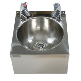 --- MECHLINE WS3-TX-BL --- Hand Wash Station with AquaTechnix Lever Taps