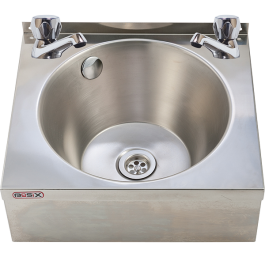 --- MECHLINE WS4-D --- Hand Wash Station with CaterTap Dome Taps
