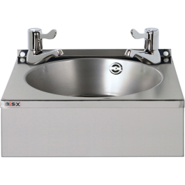 --- MECHLINE WS4-L --- Hand Wash Station with CaterTap 3-inch Lever Taps