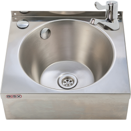 --- MECHLINE WS4-ML --- Hand Wash Station with 3-inch Lever Tap and Manual Mixer