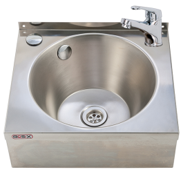 --- MECHLINE WS4-MM --- Hand Wash Station with Monobloc Single Lever Mixer Tap