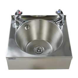 --- MECHLINE WS4-TX-BD --- Hand Wash Station with AquaTechnix Dome Taps
