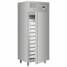 Tefcold X6 Stainless Steel Upright Fish Cabinet with 10 Removable Drawers