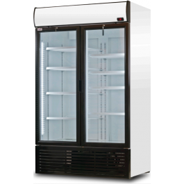 Prodis XD1300 Double Door Upright Display Refrigerator With High Capacity