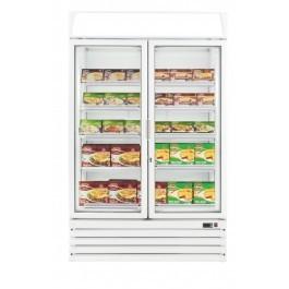 PRODIS XD2NW Hinged Twin Glass Door Display Freezer