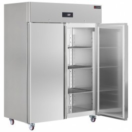 Gemm XFN/140 Platinum Energy Efficient Solid Twin Door GN 2/1 Refrigerator