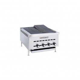 Bakers Pride XXE-4 Heavy Duty Counter Top Gas Radiant Chargrill