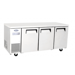 Atosa YPF9042GR 3  Doors Counter Fridge with L/H Compressor - W1800mm