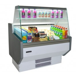 Blizzard ZETA130 Slim Serve Over Counter with Flat Display Glass