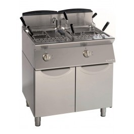 Giorik CPG946 Twin 1/1 GN Tank Gas Pasta Boiler with Basket Options