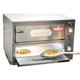 Italforni EK44 Twin Deck Refractory Brick Based Electric Pizza Oven