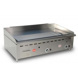 Mirror G3 Gas Thermostatically Controlled Chrome Griddle with a Smooth Plate