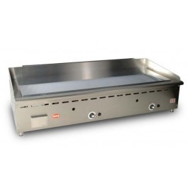 Mirror G4 Gas Thermostatically Controlled Chrome Griddle with a Smooth Plate