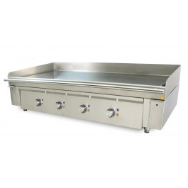 Mirror M1300E Griddle with Four Heating Zones and a Smooth Chrome Plate