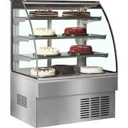 Trimco ZURICH II 120SS Stainless Steel Patisserie Display Cabinet