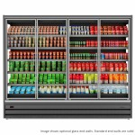 Tefcold Callisto CH125 Chilled Multideck with Glass Doors, Base & 5 Shelves