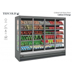 Tefcold Callisto CH250 Chilled Multideck with Glass Doors, Base & 5 Shelves